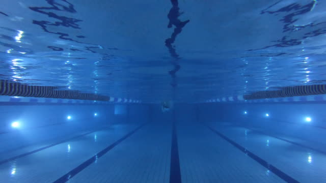 indoor swimming pool - length stock videos & royalty-free footage