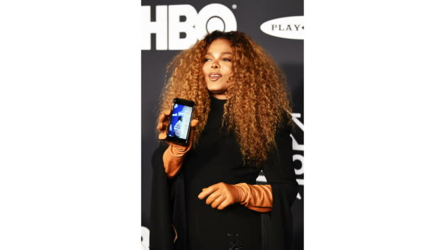 inductee janet jackson attends the 2019 rock roll hall of fame induction ceremony at barclays center on march 29 2019 in new york city - hall of fame stock videos and b-roll footage