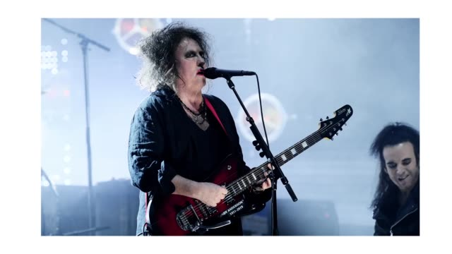 inductee robert smith of the cure performs at the 2019 rock roll hall of fame induction ceremony show at barclays center on march 29 2019 in new york... - hall of fame stock videos and b-roll footage