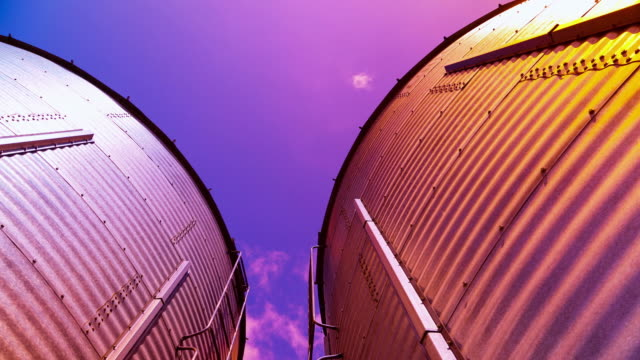 industrial containers - storage tank stock videos and b-roll footage
