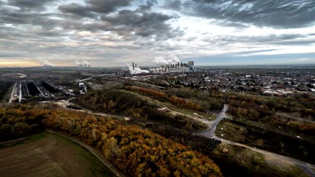 空から見た。産業の風景 - landscape scenery点の映像素材/bロール