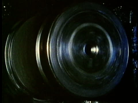 vídeos de stock, filmes e b-roll de montage, industrial manufacturing equipment, 1960's, detroit, michigan, usa - 1960 1969