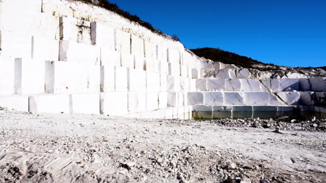 industrial marble quarry - granite rock stock videos & royalty-free footage