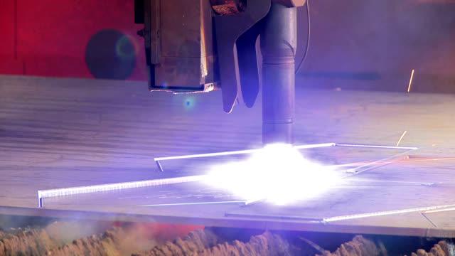 industrial metalwork - metalwork stock videos & royalty-free footage