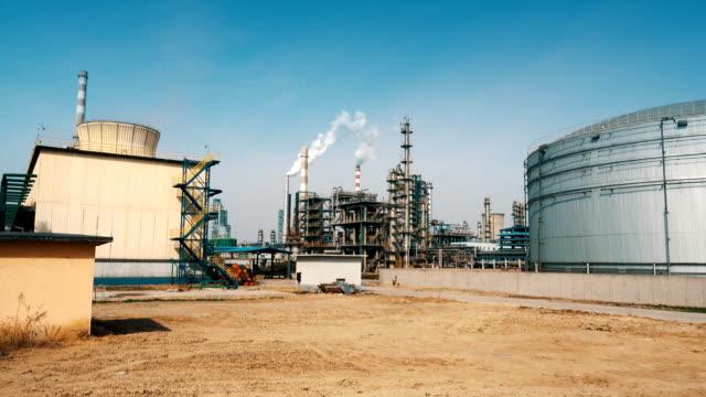 industrielle anlage - chemie stock-videos und b-roll-filmmaterial