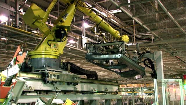 vídeos y material grabado en eventos de stock de industrial robótica - robótica