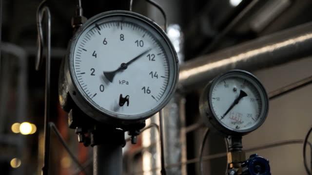 Industrial set Manometer indications