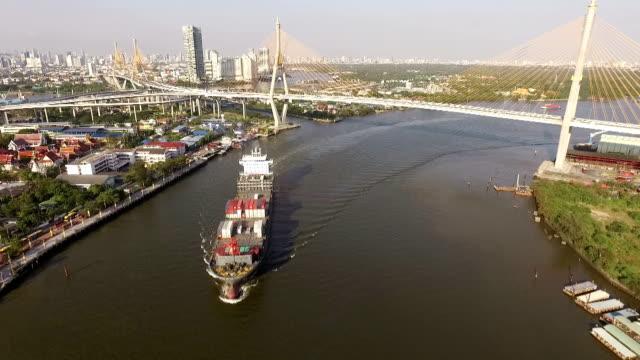 産業用輸送港にバンコク,タイ