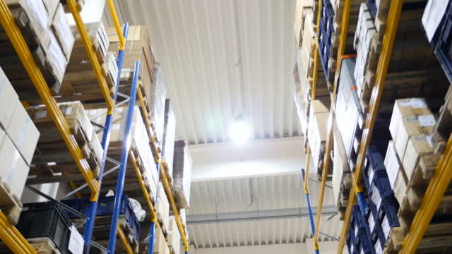 Industrial stock with packages
