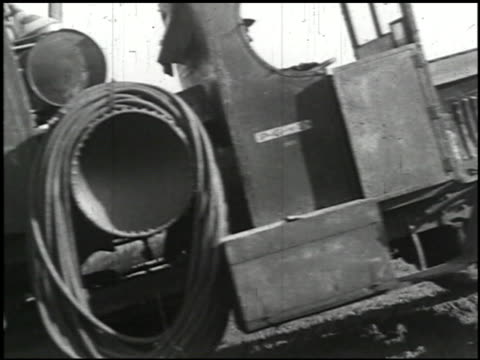 industrial uses of 'caterpillar' tractors - 11 of 14 - see other clips from this shoot 2194 stock videos & royalty-free footage