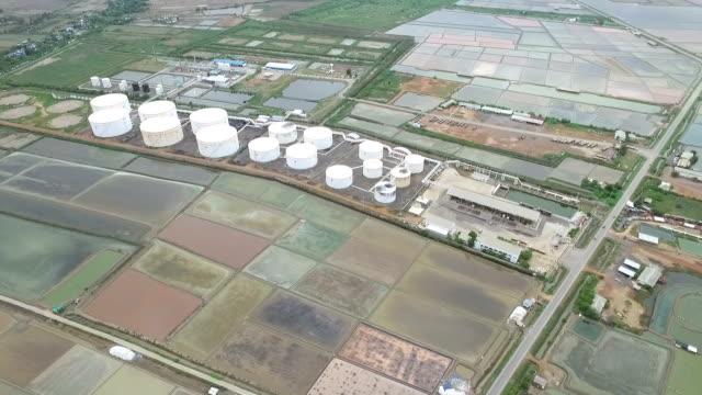 Vista industriale nello stabilimento di Raffineria di petrolio industria modulo zona