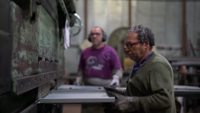 Industrial Workers Working at Metallurgy