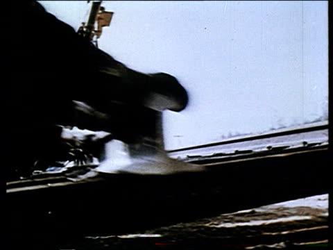 railroad construction bam railway line - propaganda bildbanksvideor och videomaterial från bakom kulisserna