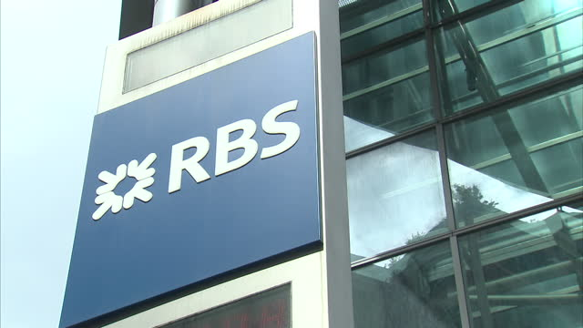 industry experts have told sky news a lack of investment in technology by banks is to blame for the problems facing natwest, rbs and ulster bank. for... - banking sign stock videos & royalty-free footage