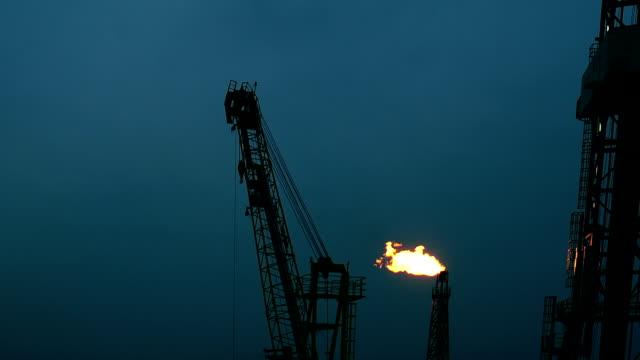 業界のフレーム - 石油産業点の映像素材/bロール