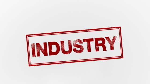 vidéos et rushes de industrie - bol vide