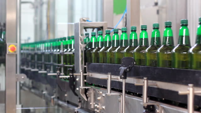industry - beer bottle stock videos and b-roll footage