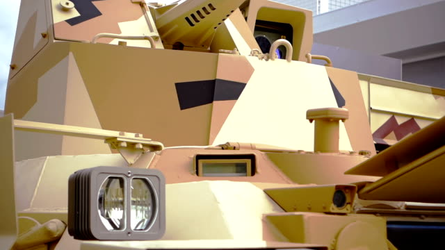 infantry fighting vehicle - side view - military land vehicle stock videos & royalty-free footage