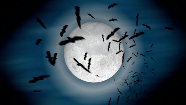 infinite bats - vampire stock videos and b-roll footage