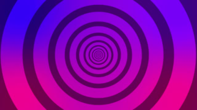 infinite circles loop animation, simple looping purple circles background - swirl pattern stock videos & royalty-free footage