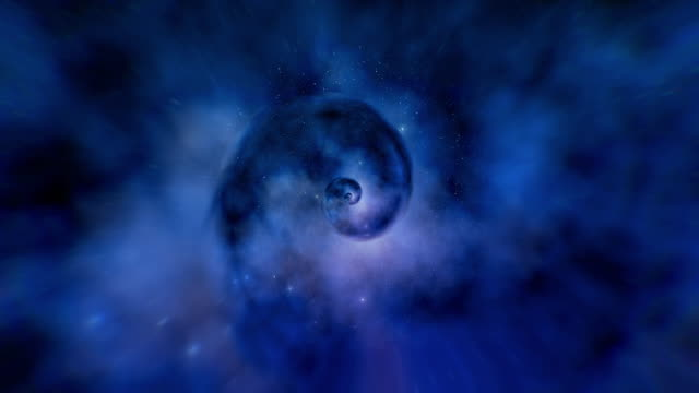 infinity loopable galaxy space backgrounds - copy space stock videos & royalty-free footage
