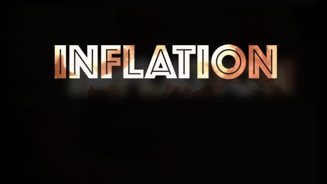 inflation economic instability covid19 computer graphic - shaking stock videos & royalty-free footage