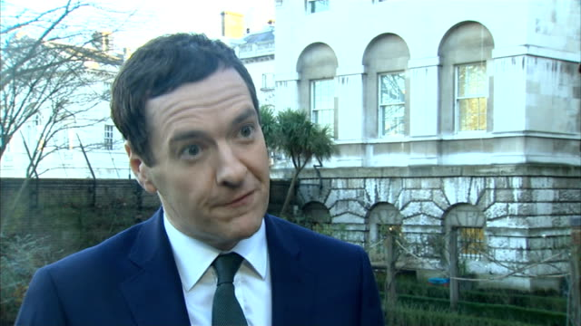 George Osborne interview ENGLAND London EXT George Osborne MP interview re low inflation SOT today we have welcome news that inflation is at its...