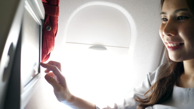 in-flight entertainment - arts culture and entertainment stock videos & royalty-free footage