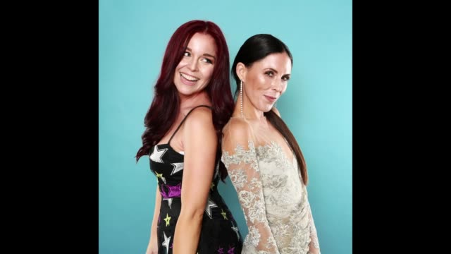 GIF Influencers Erin Robinson and Joslyn Davis pose for gifs at the American Influencer Awards at LA Live on November 18 2017 in Los Angeles...