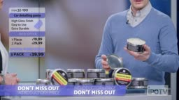 UK infomercial montage: Female host talking about the car wax product being presented on the show