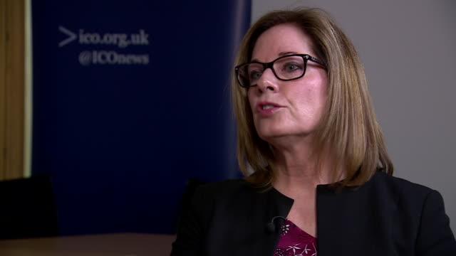 Information Commissioner Elizabeth Denham saying Facebook 'can't mark their own homework' in preventing the spread of disinformation on its platform