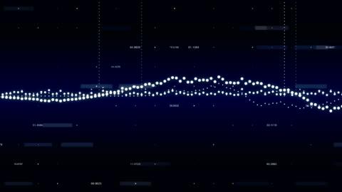 vídeos y material grabado en eventos de stock de información pantalla gráfica - resolución de 4 k - dedo