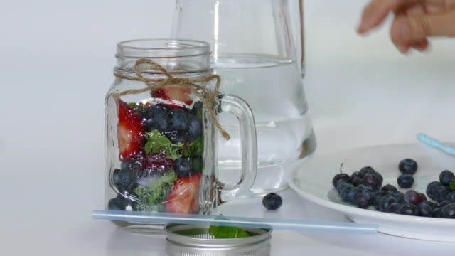 infused water making - baseball pitcher stock videos and b-roll footage