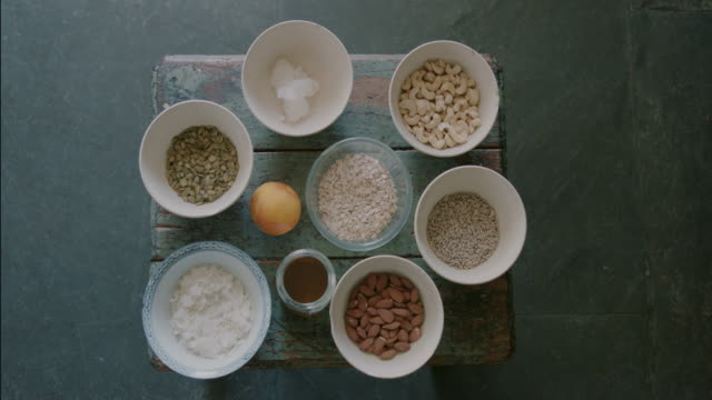 ingredients on table - raw food stock videos & royalty-free footage