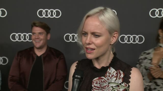 INTERVIEW Ingrid Bolso Berdal on this Audi preEmmy event has been the favorite way for Hollywood to kickoff Emmy's week for seven years at Audi...