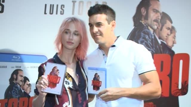 ingrid garcía jonsson dvd signing of toro on bluray - toro fish stock videos and b-roll footage