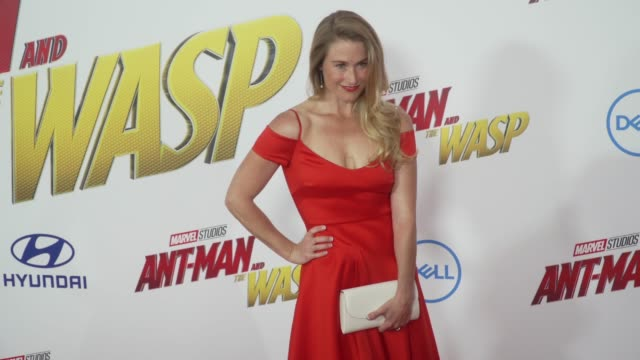 Ingrid Kleinig at the 'AntMan and the Wasp' World Premiere at the El Capitan Theatre on June 25 2018 in Hollywood California