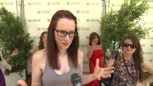 Ingrid Michaelson on why she wanted to perform during today's event and on the work EGPAF does at 23rd Annual 'A Time For Heroes' Celebrity Picnic...