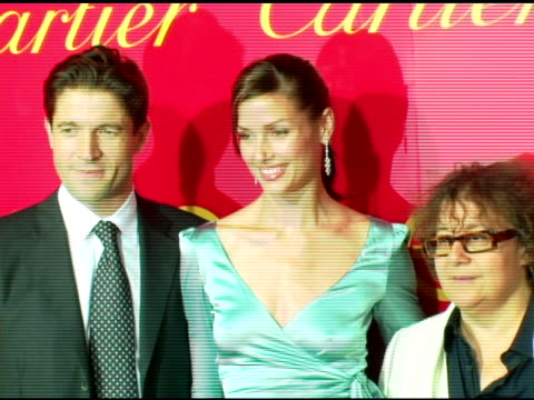 Ingrid Sischy Editor in Chief Interview Magazine Bridget Moynahan and Frederic De Narp President and CEO Cartier NA at the Cartier and Interview...