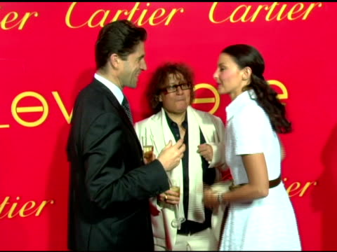 Ingrid Sischy Editor in Chief Interview Magazine Frederic De Narp President and CEO Cartier NA and Ashley Judd at the Cartier and Interview Magazine...