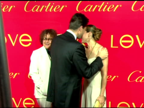 Ingrid Sischy Editor in Chief Interview Magazine Sarah Jessica Parker and Frederic De Narp President and CEO Cartier NA at the Cartier and Interview...