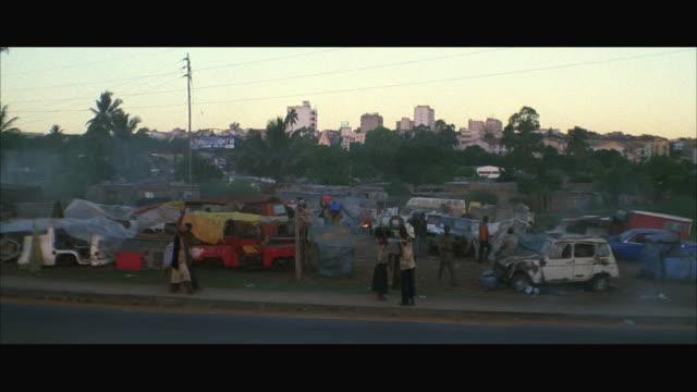 WS TU Inhabitant might passing refugees at refugee camp