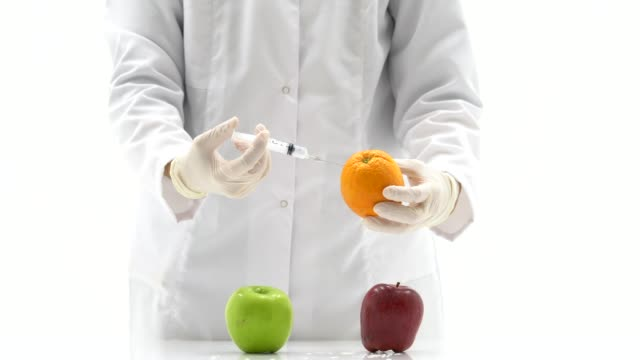 injecting with a syringe into fruit - dopamine stock videos and b-roll footage