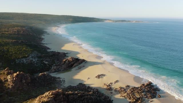 injidup beach western australia - moving image stock videos & royalty-free footage