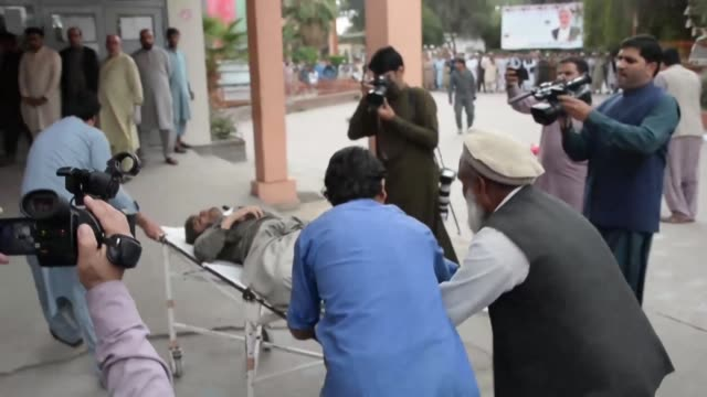 injured are rushed to hospital in jalalabad afghanistan after at least 62 people were killed and dozens wounded by a blast inside a mosque during... - injured stock videos & royalty-free footage