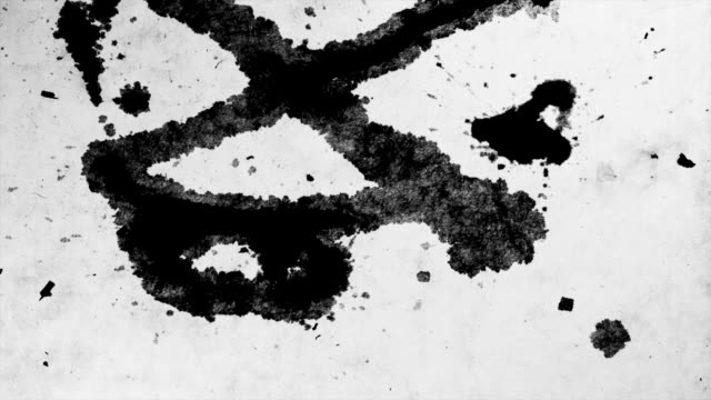 iNK BLOT ON PAPER-TIME LAPSE-1080HD