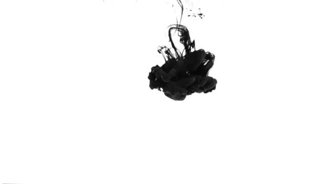 Tinte Drop langsam