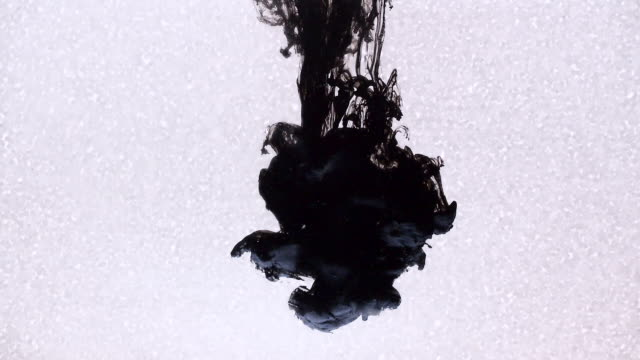 Ink on a white background