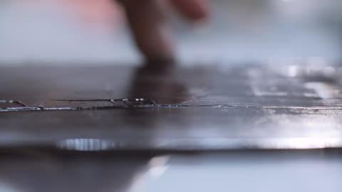 stockvideo's en b-roll-footage met inkt afdrukken voor etsen - litho