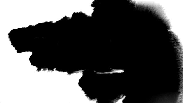 stockvideo's en b-roll-footage met inkt splatter in spatten, druppels en vlekken. - evolutie